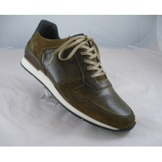 sneakers ville homme WAGRAND Taupe